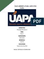 Tarea 1 - Psicologia Educativa II - Alfa Duarte