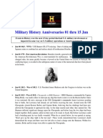 Military History Anniversaries 0601 Thru 061518