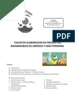 Guía Productos Bioamigables de Limpieza y Aseo Personal