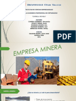 Exposición de Empresa Minera