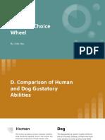 5 senses choice wheel