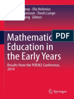 Tamsin Meaney, Ola Helenius, Maria L. Johansson, Troels Lange, Anna Wernberg (Eds.) - Mathematics Education in the Early Years_ Results From the POEM2 Conference, 2014 (2016, Springer International Publishing) (1)