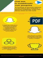 Snapchat tem engajamento estabilizado de acordo com pesquisa