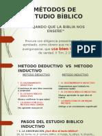 Métodos de Estudio Bíblico