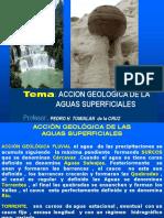 Cap6. Accion Geologica de Aguas Superfciales