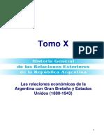 Las Relaciones Económicas de La Argentina Con Gran Bretaña y Estados Unidos 1880-1943