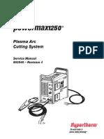 Powermax1250 Service Manual