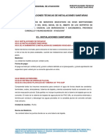 3.-Especificaciones Instalaciones Sanitarias