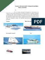 Tipos de transporte para cada mercancía.doc