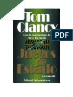 Clancy Tom Y Pieczenik Steve - Oc3 - Juegos de Estado