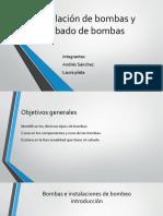 Instalación de Bombas y Cebado de Bombas