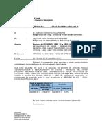 Informe de Variaciones Fomrato Snip 16 La Mar