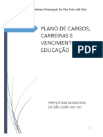 5037-Dispõe Sobre o Estatuto e Plano de Cargos, Carreiras e Vencimentos Dos Servidores Da Educação