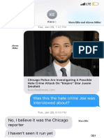 Cook County SA Texts In Jussie Smollett Case