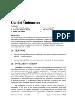 02_Uso Del Multímetro