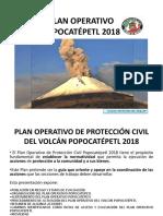 Plan Operativo de Protección Civil Del Volcán Popocatépetl