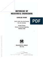 Alfred Del Vecchio - Dictionary of Mechanical Engineering (1961, Philosophical Library)