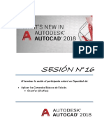 Sesion 16 Autocad 2018 - Chamfer