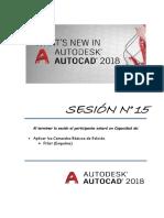 Sesion 15 Autocad 2018 - Fillet