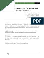 Medios de Comunicacion y Las Empresas