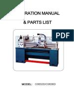 PX 1330 Manual