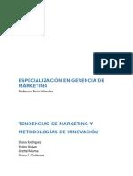 Tendencias de Marketing y Metodologías de Innovación