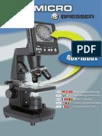 Manual LCD Micro, Bresser