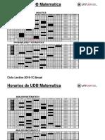 Horario UDB Matemática Cl2019 FINAL