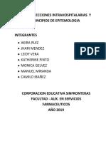 Trabajo Infecciones Intrahospitalarias y de Principios de Epitemologia Camilo