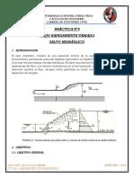5ta Práctica - Salto Hidraulico