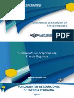 Fundamentos en Soluciones de Energía Regulada