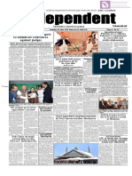 Daily Independent Islamabad - 1st June 2019