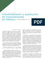 38. Industrialización y Sustitución de Importaciones en México