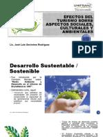 Turismo i Tema 5 Efectos Del Turismo Sobre Aspectos Sociales Culturales y Ambientales