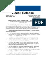 FSIS Recall 064-2019 Foreign Materials