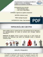 Tipologia de Grupo