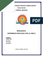 Monografia de Ebola
