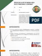 Diagnóstico de la RTF 18558-9-2013