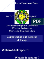 3 Classification & Naming of Drugs
