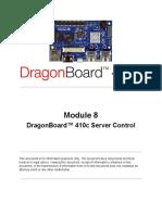 M8 DragonBoard 410c Server Control