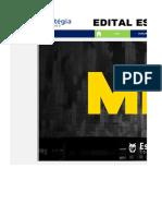 Edital Estratégico MPU TAAA
