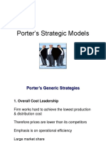Porters Strategic Model Class