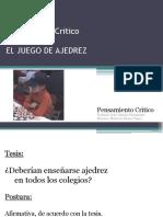 Presentacion Juego de Ajedrez