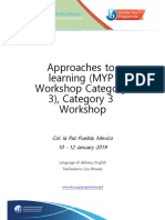Workbook- Approaches to Learning (MYP Workshop Category 3)