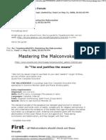 Mastering the Malconvoker