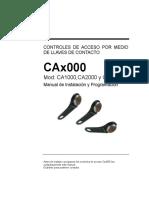 CAx000 Manual Analogico