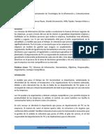 Gobierno Del Departamento de Tecnologiìas de La Informacioìn y Comunicaciones