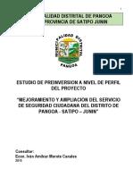 Perfil Seguridad Ciudadana Pangoa