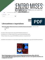 Librecambismo e Imperialismo _ Centro Mises
