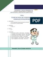Seminario 03 - Toxicologia de Venenos de Animales Ponzo